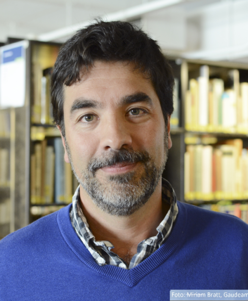 Director of the Institute of Latin American Studies, Andrés Rivarola