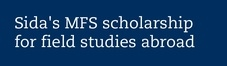 Minor Fieldwork Studies (MFS) - Stockholm University
