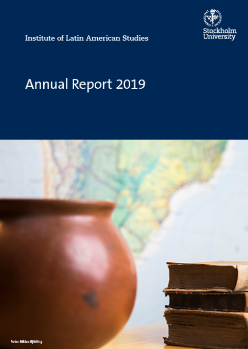 Omslag på Annual Report 2019